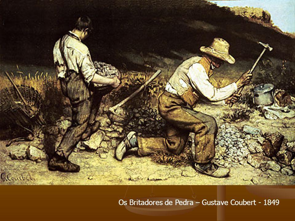 Os Britadores de Pedra – Gustave Coubert - 1849