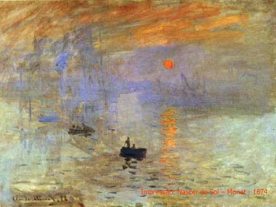 Impressão: Nascer do Sol – Monet - 1874