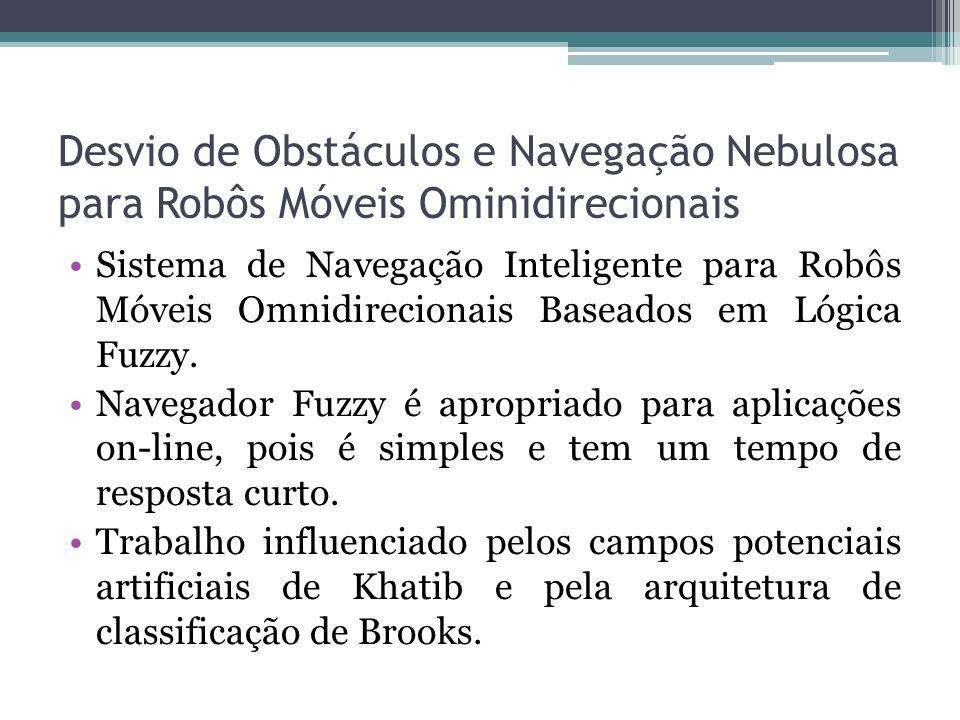 Desvio de Obstáculos e Navegação Nebulosa para Robôs Móveis Ominidirecionais Sistema de Navegação Inteligente para Robôs Móveis Omnidirecionais Basead