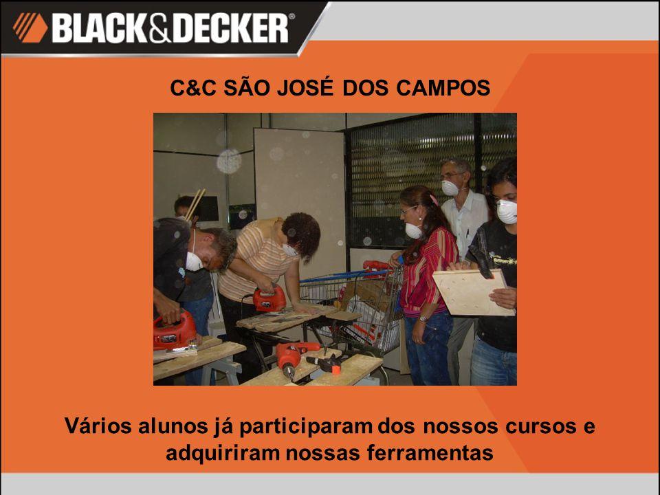 C&C SÃO JOSÉ DOS CAMPOS Vários alunos já participaram dos nossos cursos e adquiriram nossas ferramentas