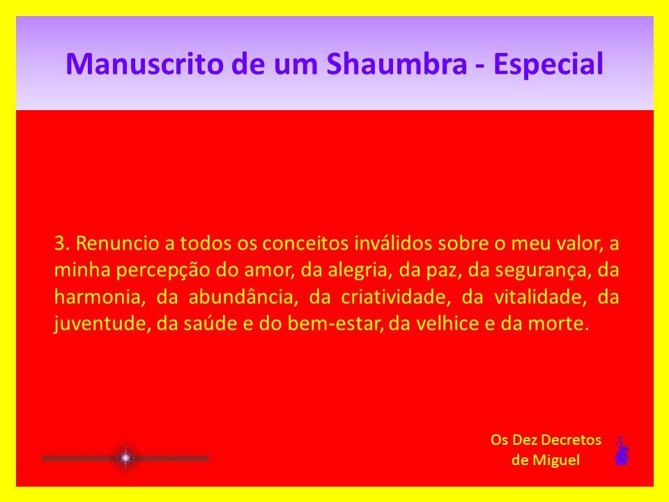 Manuscrito de um Shaumbra - Especial 2.
