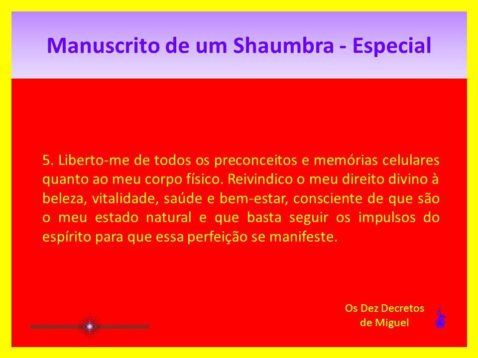 Manuscrito de um Shaumbra - Especial 4.