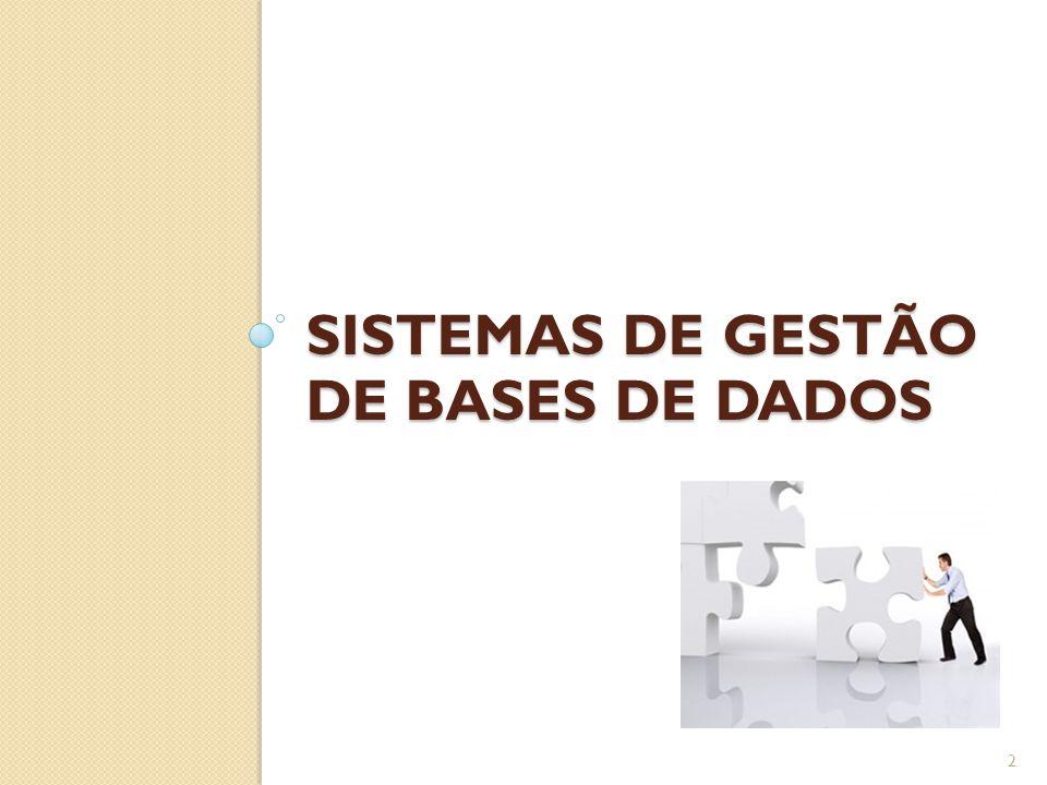 SISTEMAS DE GESTÃO DE BASES DE DADOS 2