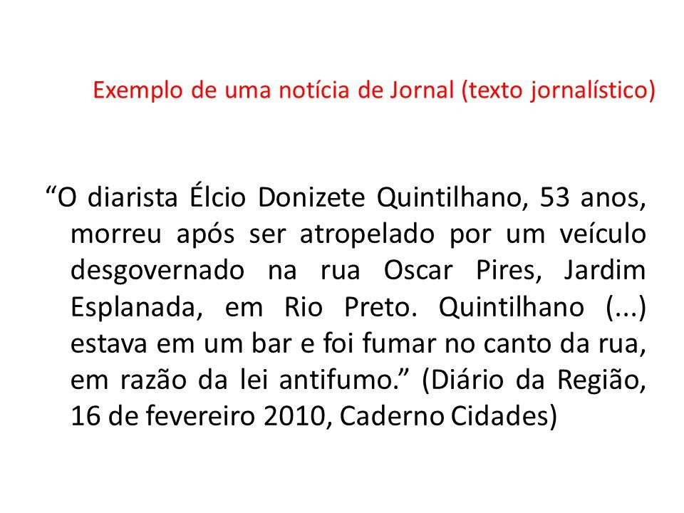 O diarista Élcio Donizete Quintilhano, 53 anos, morreu após ser atropelado por um veículo desgovernado na rua Oscar Pires, Jardim Esplanada, em Rio Preto.