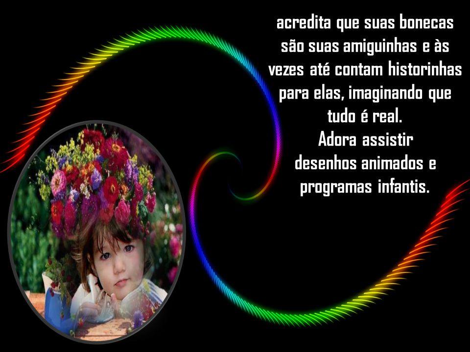 Alice sobrinha de Irene Alvina e nessas fantasias está incluído acreditar em Papai Noel, em Lobo Mal, Bicho Papão e Saci-Perere.