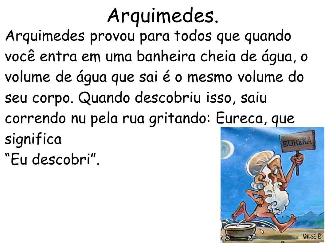 Arquimedes.
