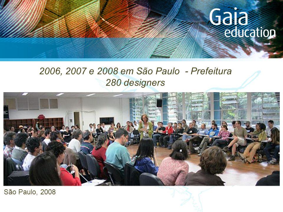 São Paulo, 2008 2006, 2007 e 2008 em São Paulo - Prefeitura 280 designers