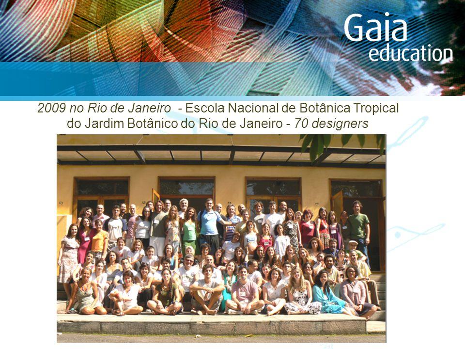 2009 no Rio de Janeiro - Escola Nacional de Botânica Tropical do Jardim Botânico do Rio de Janeiro - 70 designers