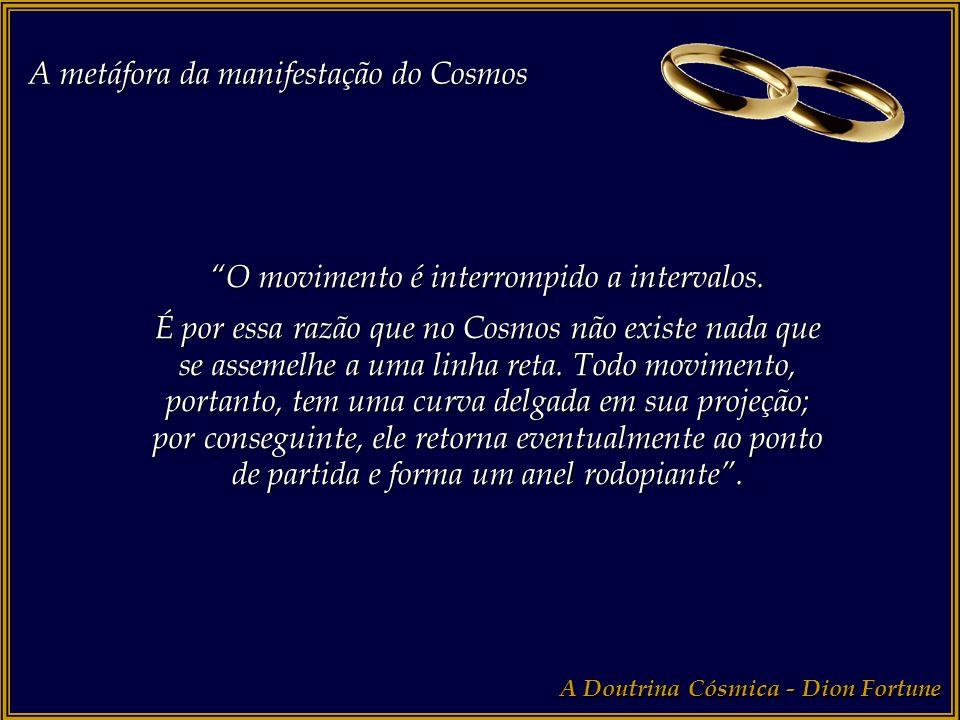 """A metáfora da manifestação do Cosmos A Doutrina Cósmica - Dion Fortune """"Estes dois fatores"""" [movimento e inércia] """"estão presentes em todo movimento,"""