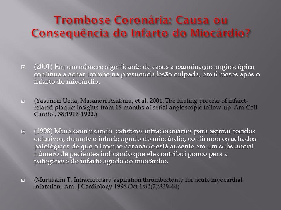 Apresentações em Video e em Powerpoint, assim como artigos e outras informações sobre a teoria miogênica em:  http://www.infarctcombat.org/TeoriaMiogenica.html