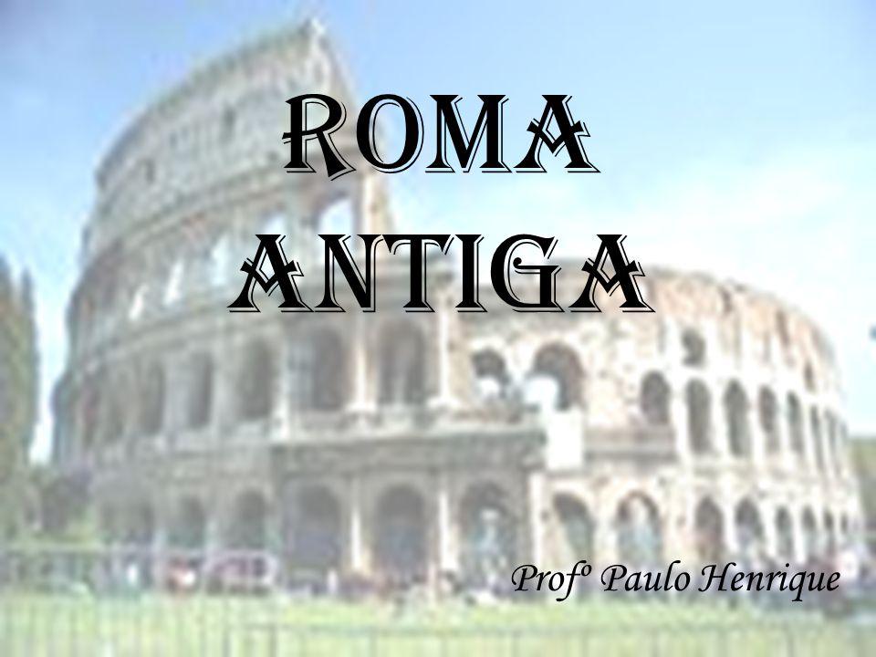 Raízes históricas  Italiotas, etruscos e gregos;  Lenda de Rômulo e Remo ( Eneida de Virgílio)  Agricultores e pastores;