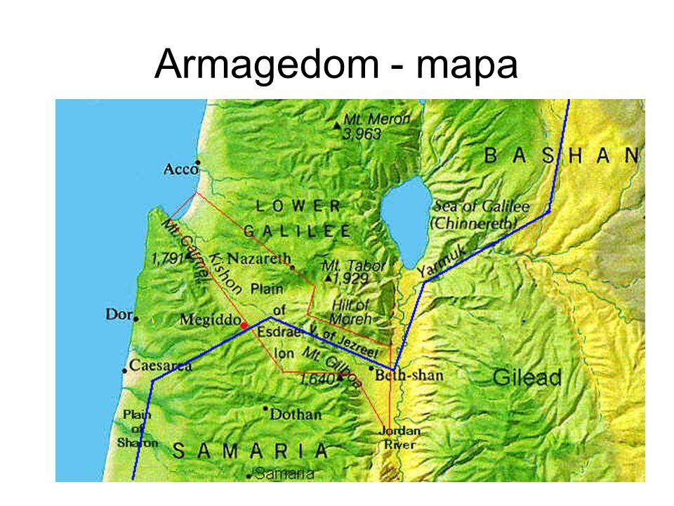 Armagedom - mapa