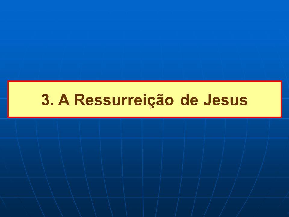 3. A Ressurreição de Jesus