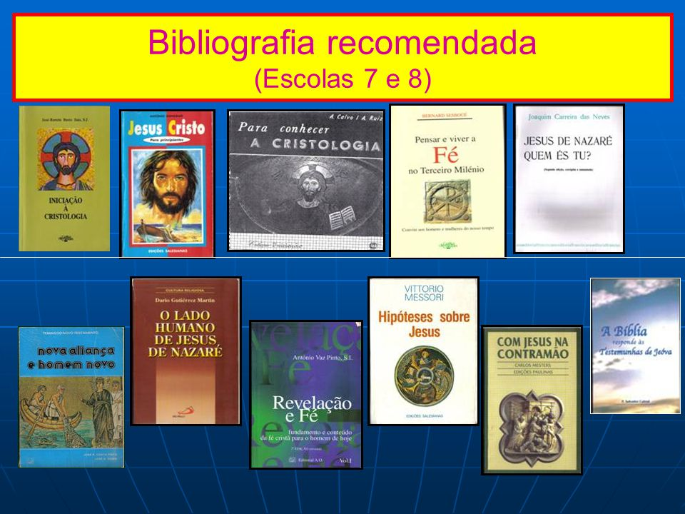 Bibliografia recomendada (Escolas 7 e 8)