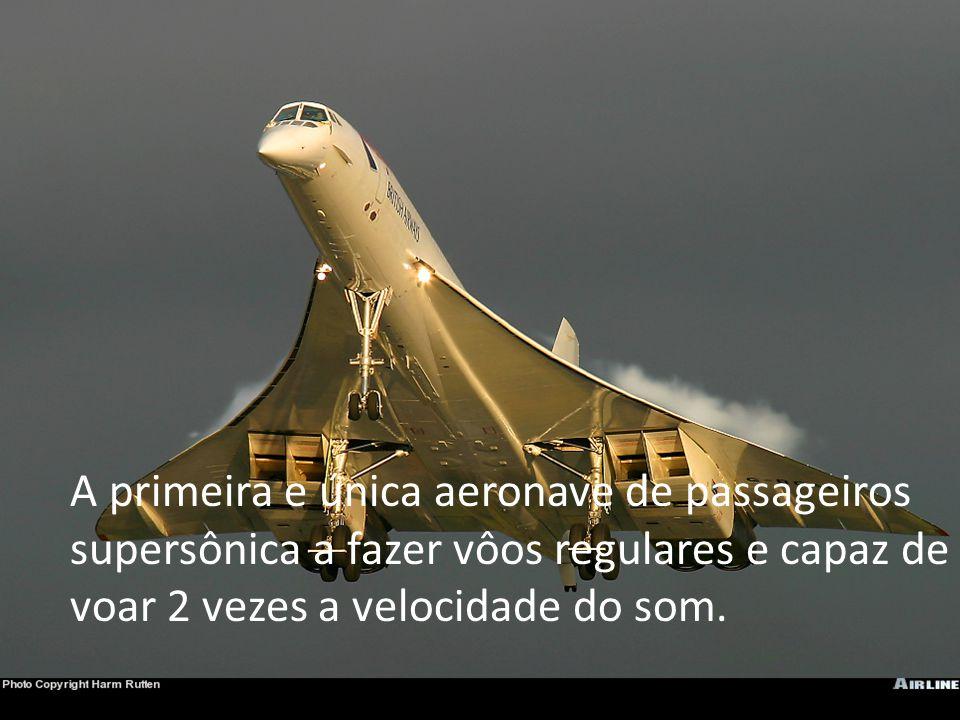 Na decolagem consumia 22 toneladas de combustível por hora e durante o cruzeiro consumia 5 toneladas hora a 2 vezes a velocidade do som.