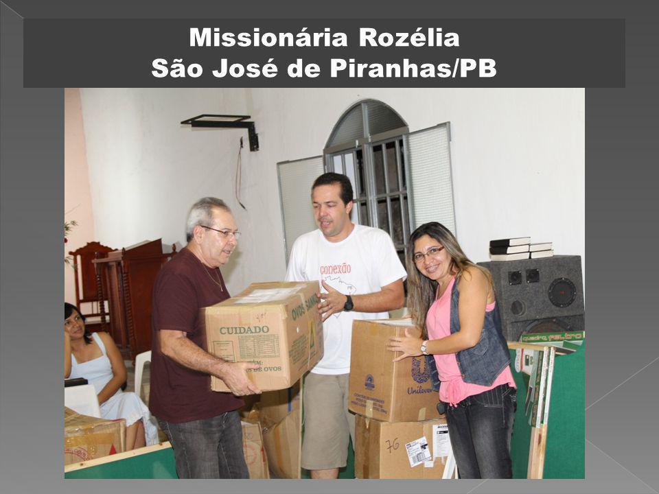 Missionária Rozélia São José de Piranhas/PB