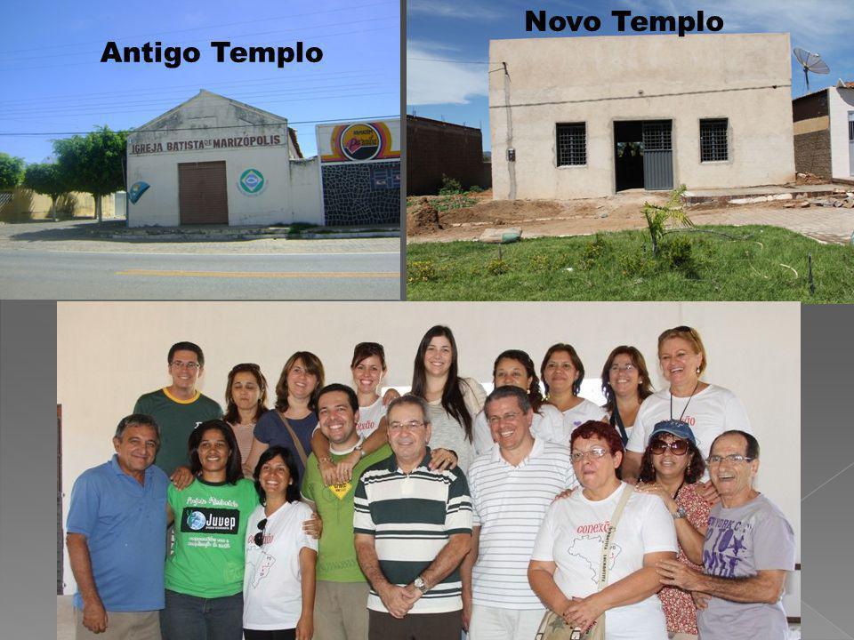 Antigo Templo Novo Templo