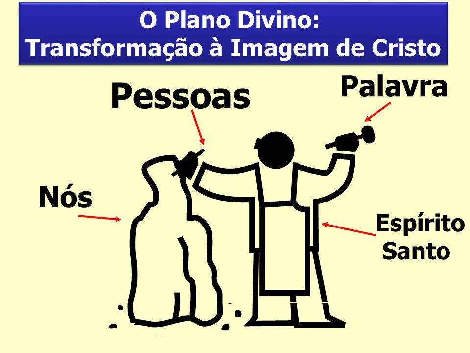 Espírito Santo Pessoas Palavra Nós O Plano Divino: Transformação à Imagem de Cristo O Plano Divino: Transformação à Imagem de Cristo