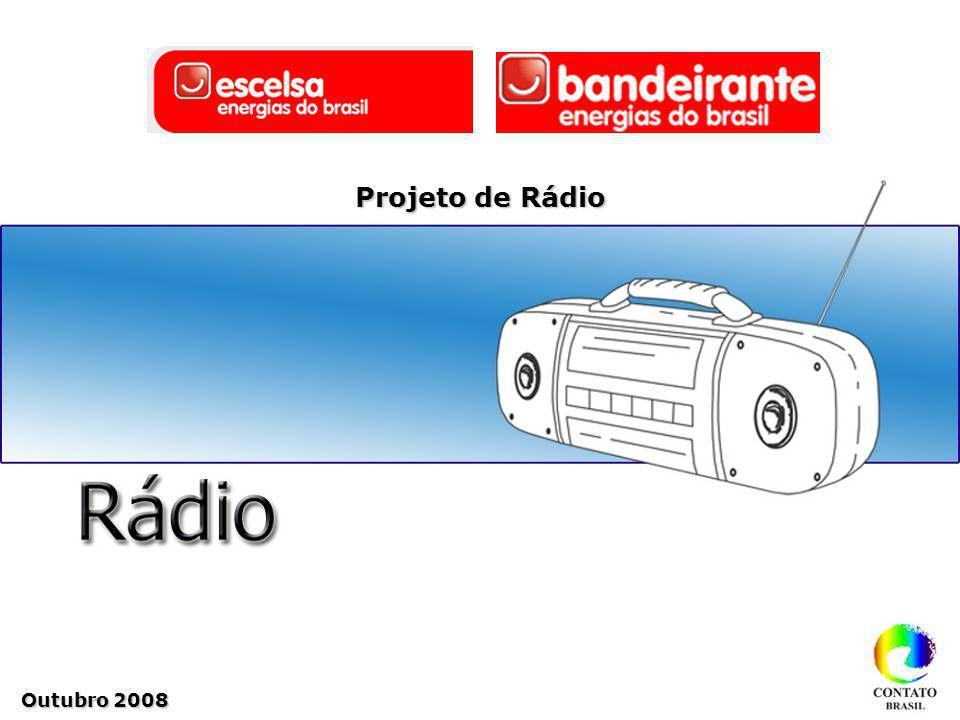 Outubro 2008 Projeto de Rádio