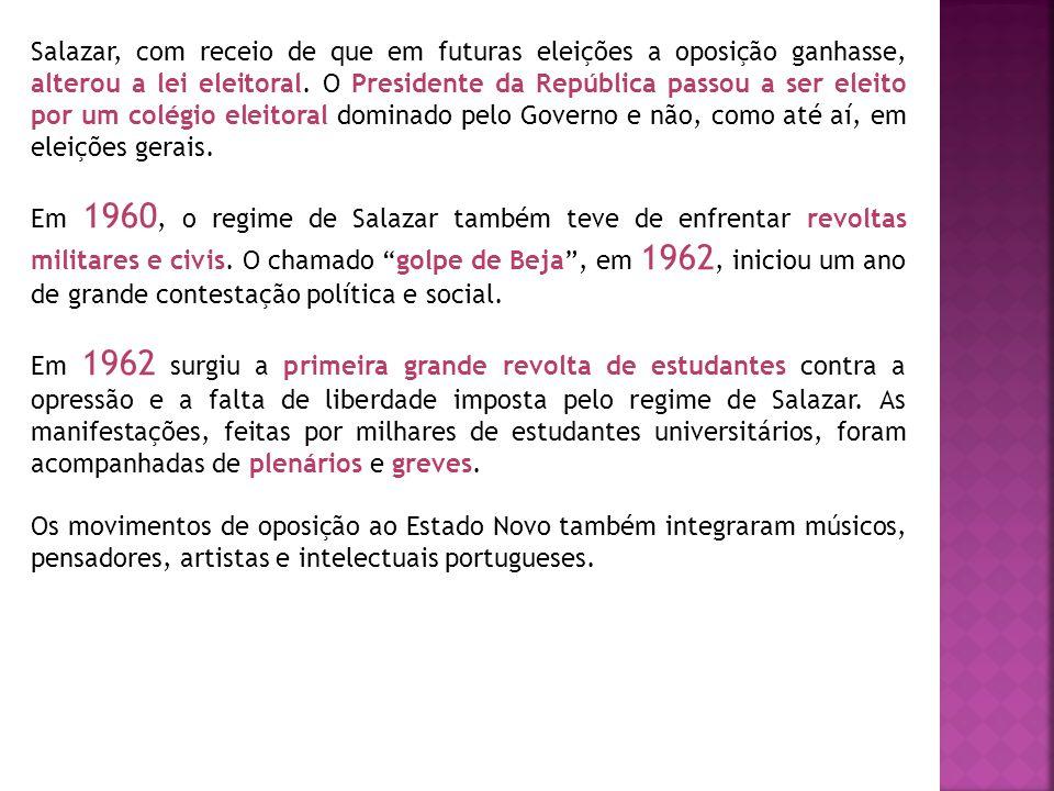 A Guerra Colonial Durante o Estado Novo, até à década de 1960, as colónias portuguesas estavam totalmente dependentes de Lisboa.