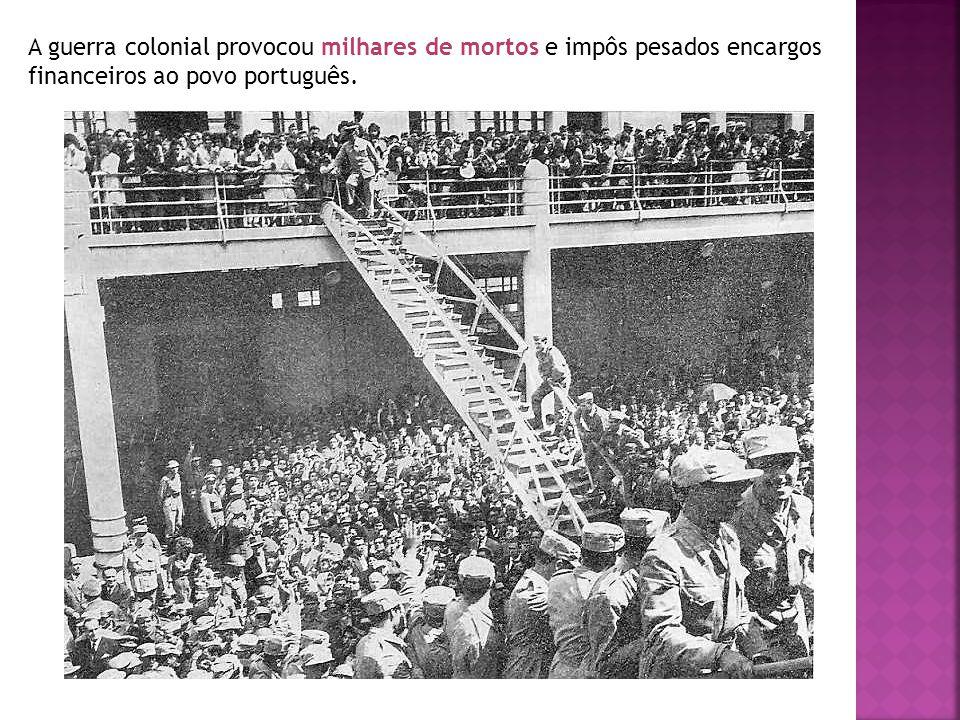 O 25 de Abril Em 1968, quando Salazar já estava idoso e doente, foi nomeado Chefe do Governo Marcelo Caetano.