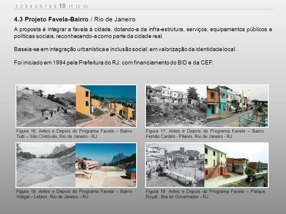 A proposta é integrar a favela à cidade, dotando-a de infra-estrutura, serviços, equipamentos públicos e políticas sociais, reconhecendo-a como parte da cidade real.
