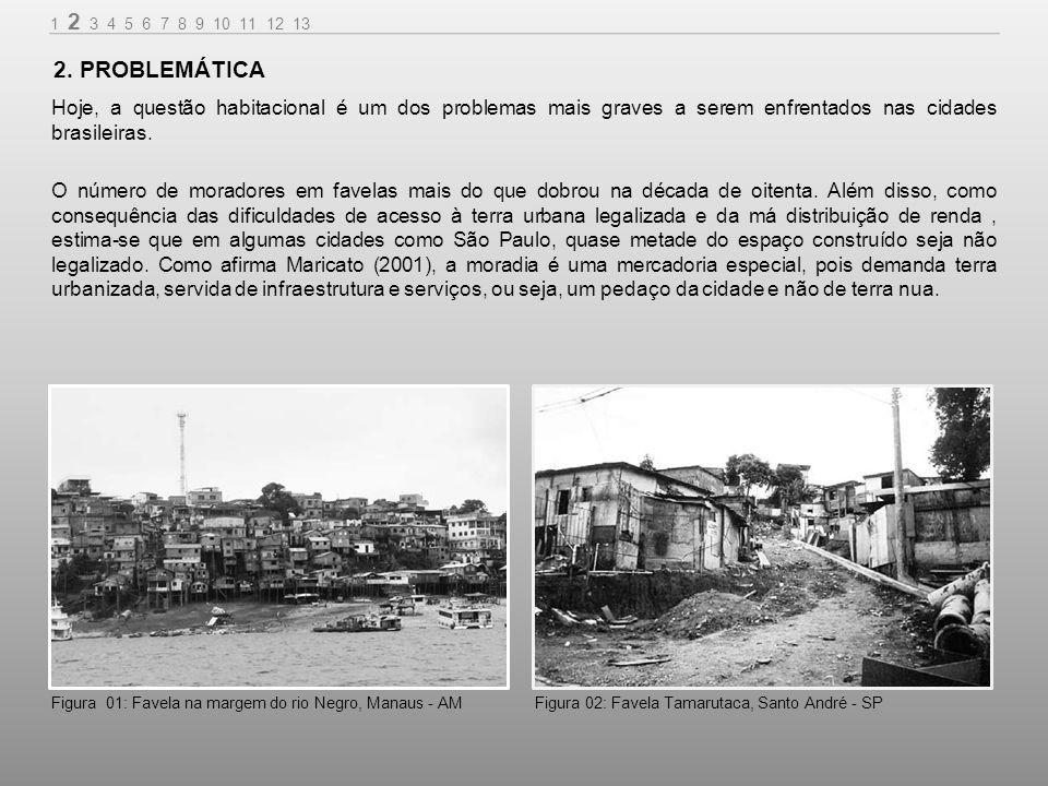 A falta de habitação no Brasil não é falta de casa, mas na verdade, falta de terra para habitação, o que é paradoxal em um país com dimensões continentais.