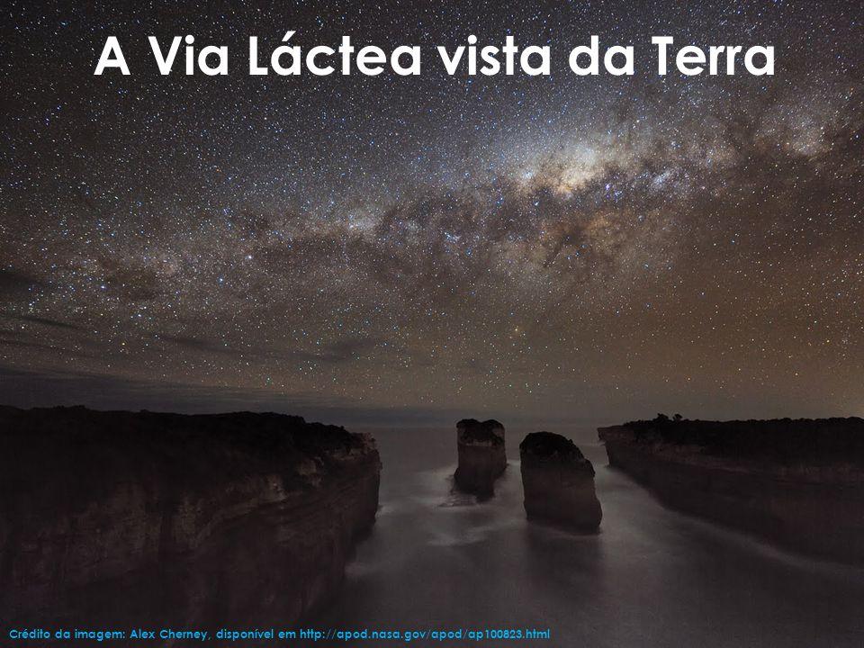 A estrutura da Via LácteaVia Láctea Crédito da imagem: Oliveira, F.