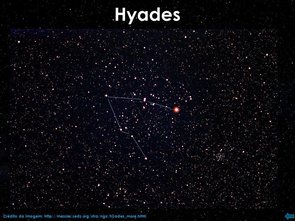 Pleiades (M45) Crédito da imagem: Stellarium