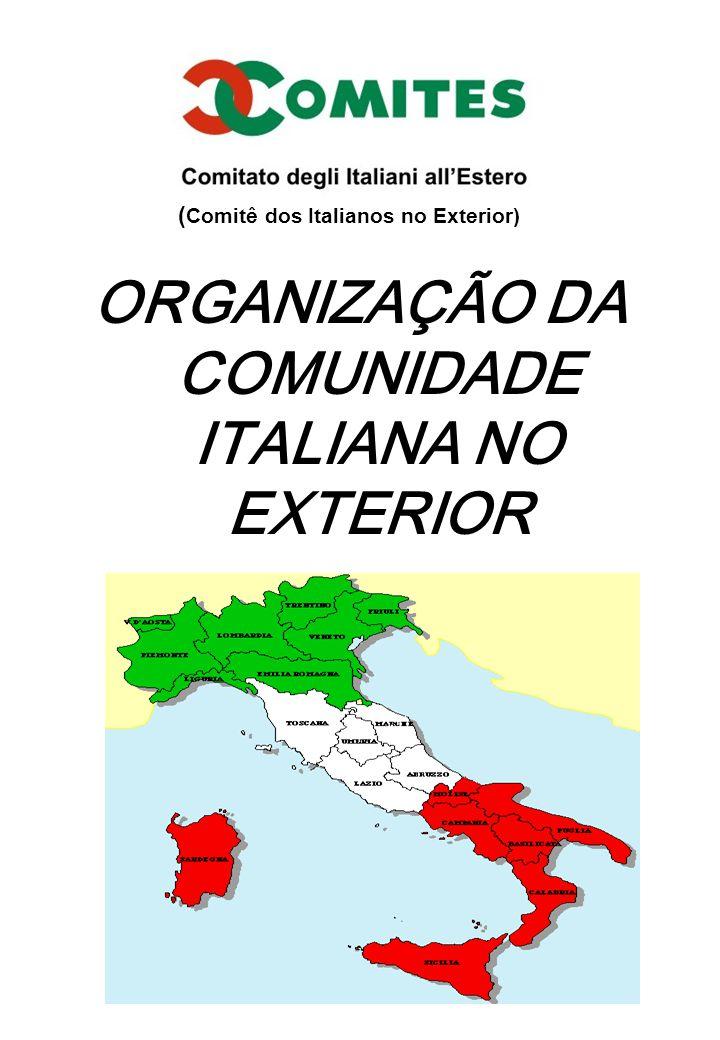 ORGANIZAÇÃO DA COMUNIDADE ITALIANA NO EXTERIOR ( Comitê dos Italianos no Exterior)