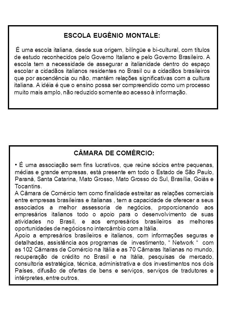 CÂMARA DE COMÉRCIO: É uma associação sem fins lucrativos, que reúne sócios entre pequenas, médias e grande empresas, está presente em todo o Estado de São Paulo, Paraná, Santa Catarina, Mato Grosso, Mato Grosso do Sul, Brasília, Goiás e Tocantins.