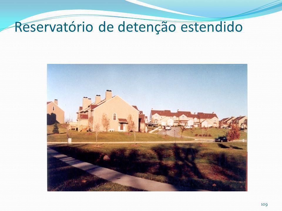 Reservatório de detenção estendido 108