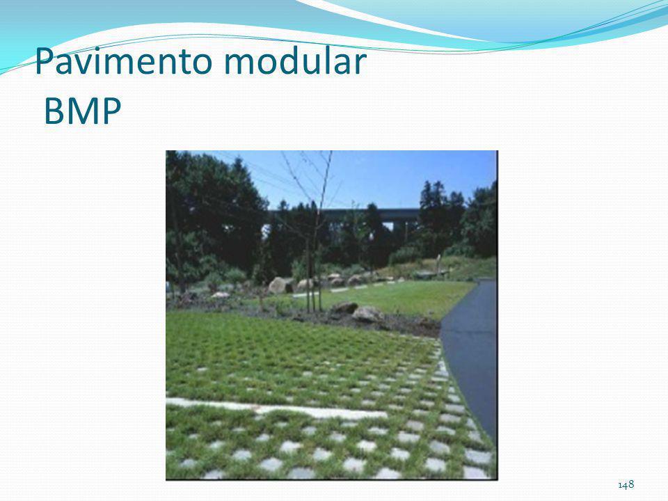 Pavimento modular (concreto ou PVC) 147
