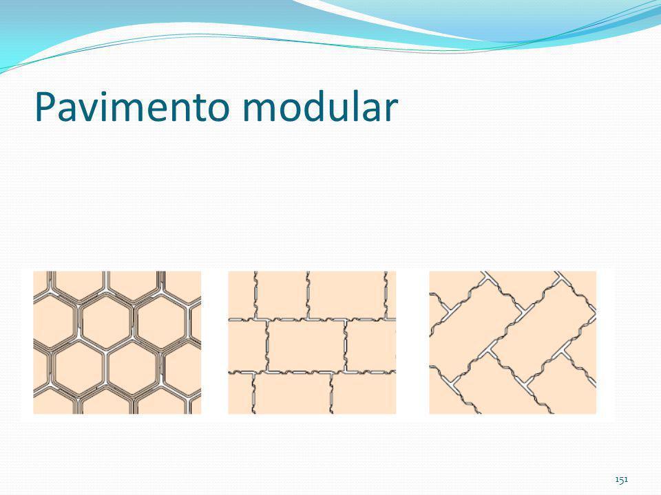 Pavimento modular 150