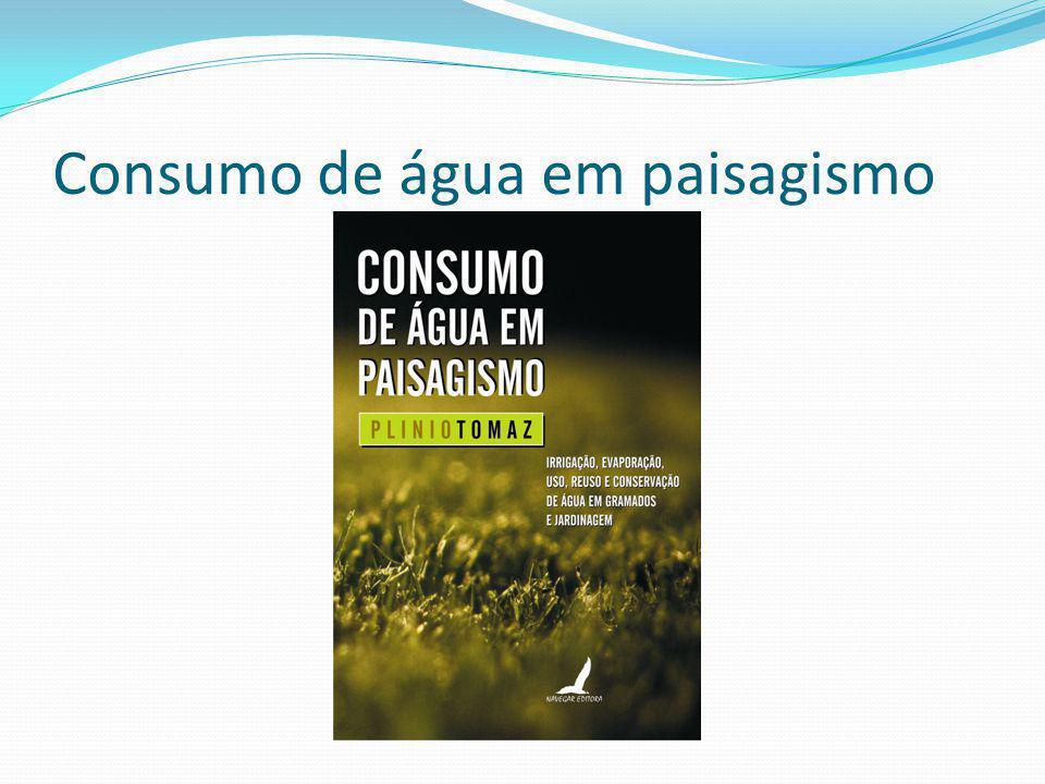 Quantidade e qualidade das águas pluviais para os créditos do LEED SS6.1-QUANTIDADE SS6.2 –QUALIDADE BMPs Site: http://www.pliniotomaz.com.br E-mail: