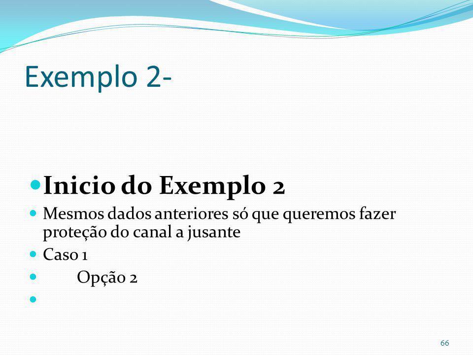 Término do exemplo 1 65