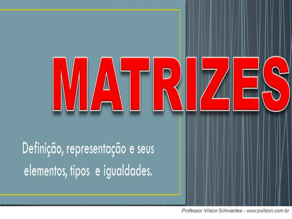 Professor Vilson Schwantes - www.pvilson.com.br MATRIZ INVERSA.