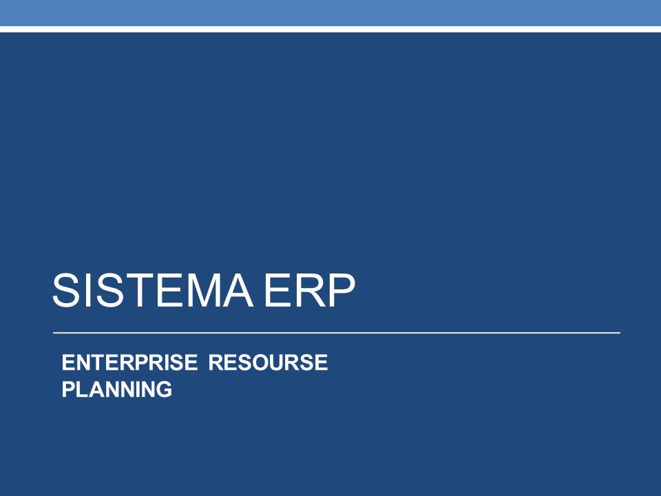 DEFINIÇÃO: O ERP – Enterprise Resource Planning (Planejamento de Recursos Empresariais) - É um sistema de gestão que integra as operações da empresa, seus relacionamentos com o ambiente e fornece as informações precisas, de forma rápida e intuitiva para que os gestores possam analisar as relações de causa e efeito, fazer simulações e construções de cenários, além de acompanhar o resultado das ações planejadas.