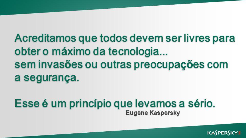 Acreditamos que todos devem ser livres para obter o máximo da tecnologia...