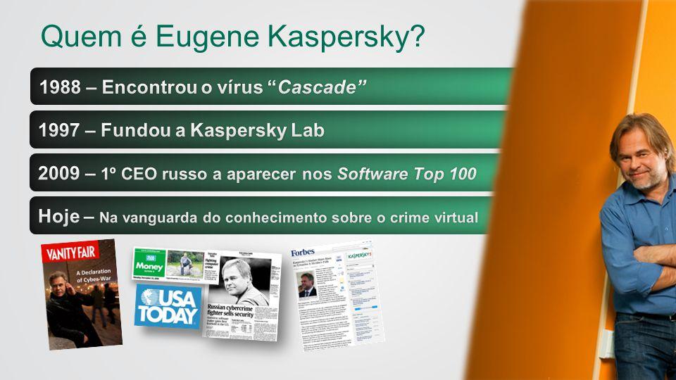 Quem é Eugene Kaspersky