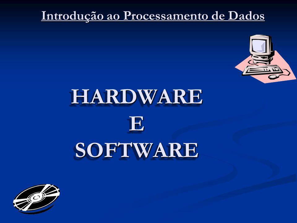 HARDWARE E SOFTWARE Introdução ao Processamento de Dados