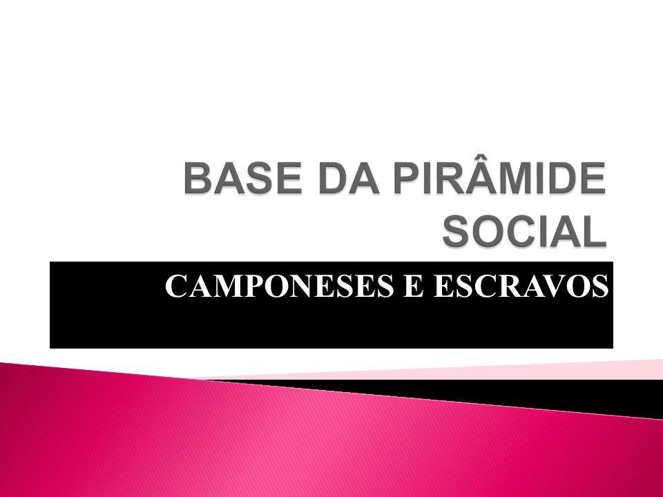CAMPONESES E ESCRAVOS