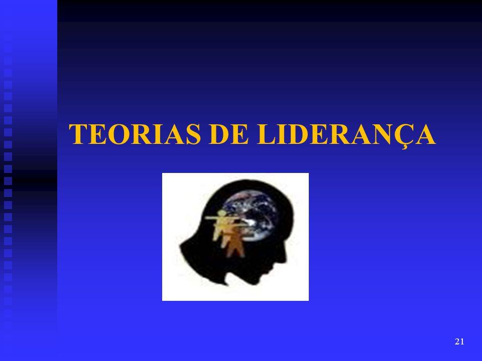 21 TEORIAS DE LIDERANÇA