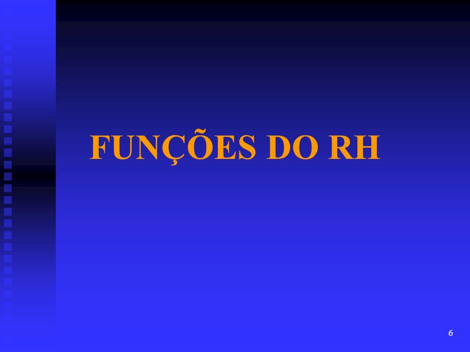FUNÇÕES DO RH 6