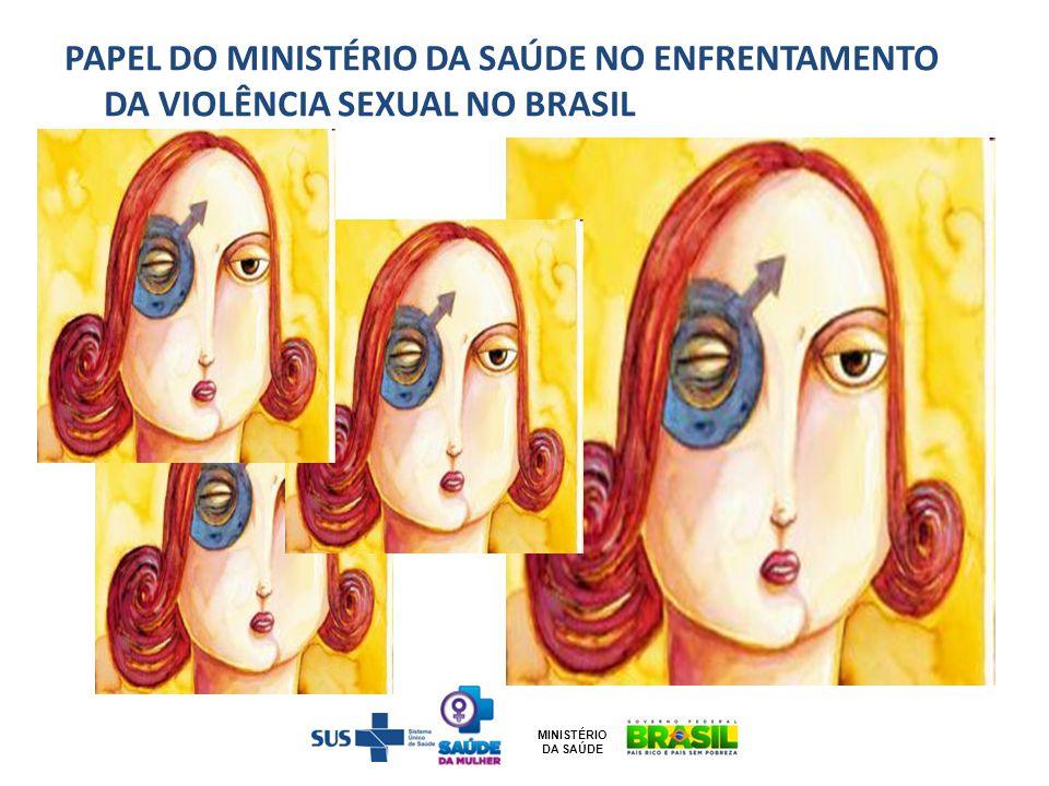 PAPEL DO MINISTÉRIO DA SAÚDE NO ENFRENTAMENTO DA VIOLÊNCIA SEXUAL NO BRASIL MINISTÉRIO DA SAÚDE