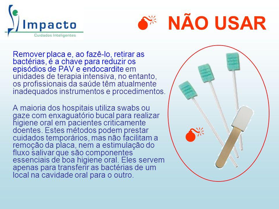 Remover placa e, ao fazê-lo, retirar as bactérias, é a chave para reduzir os episódios de PAV e endocardite em unidades de terapia intensiva, no entan