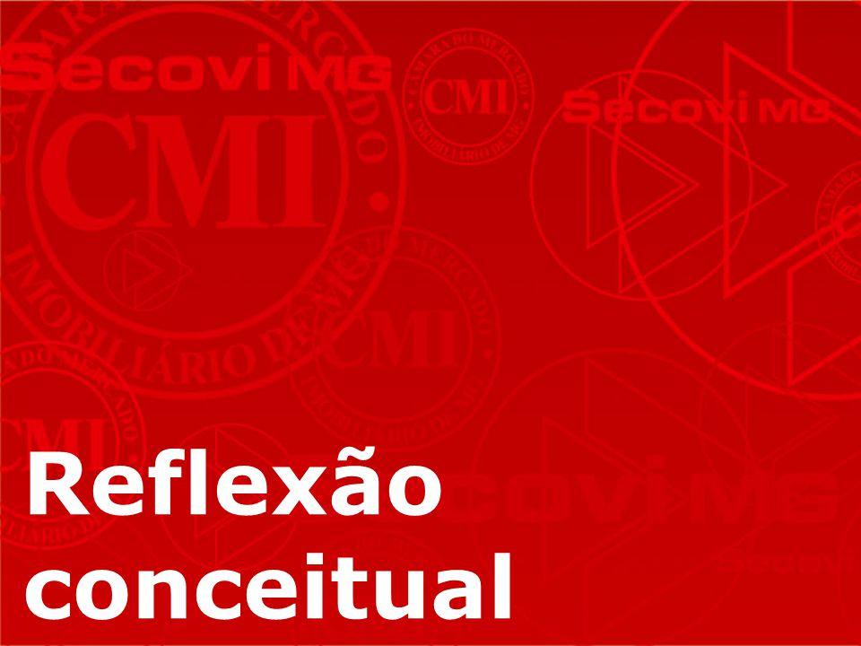 Fonte: DEPES – Departamento de pesquisas econômicas e estatísticas do SECOVI MG – IPEAD - maio 2012