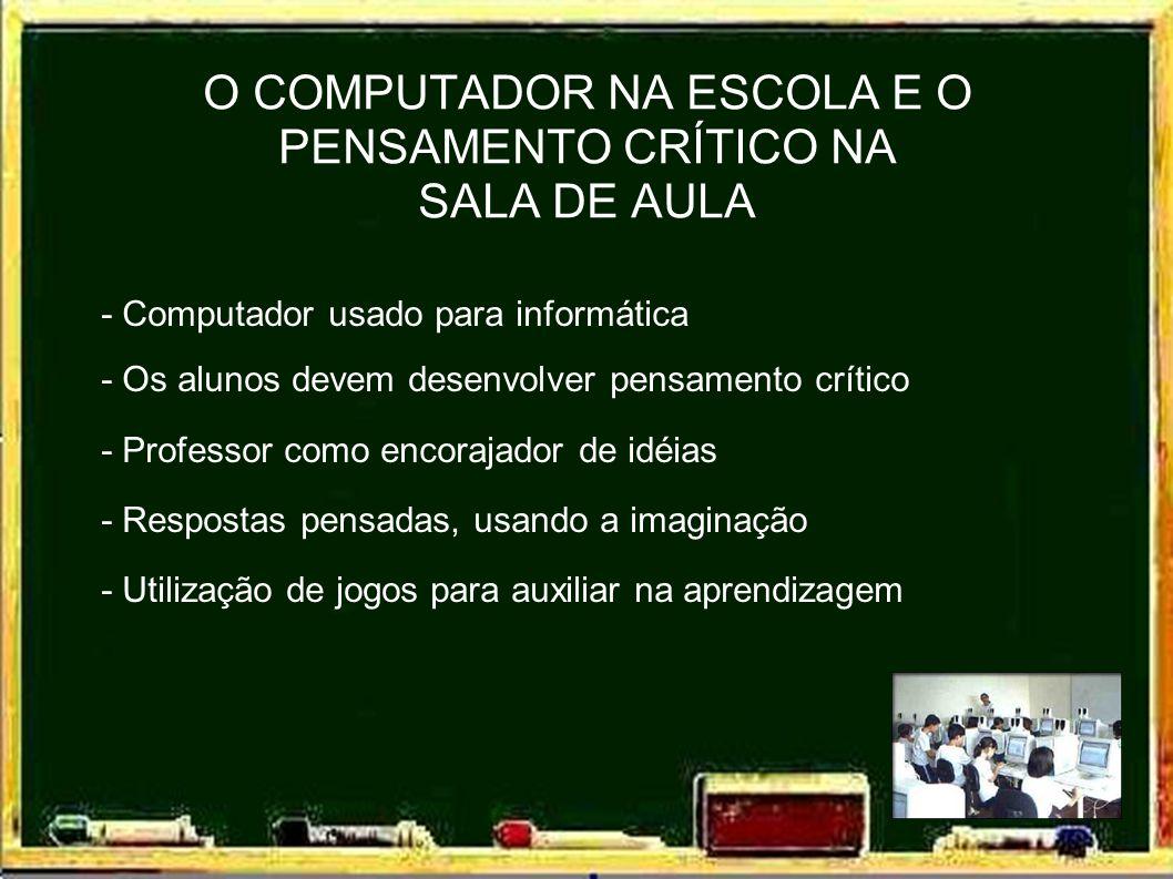 - O papel da escola na formação profissional - O uso de jogos na transposição de conhecimentos - A educação garantia do emprego EDUCAÇÃO VERSUS TREINAMENTO