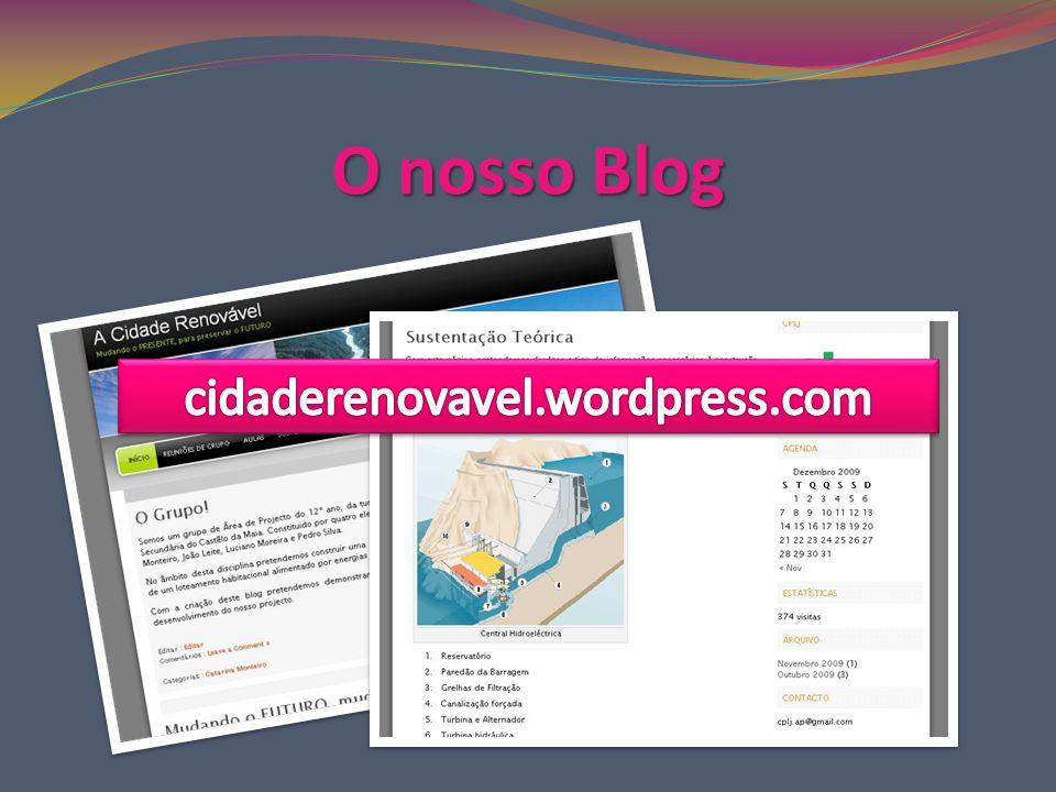 O nosso Blog