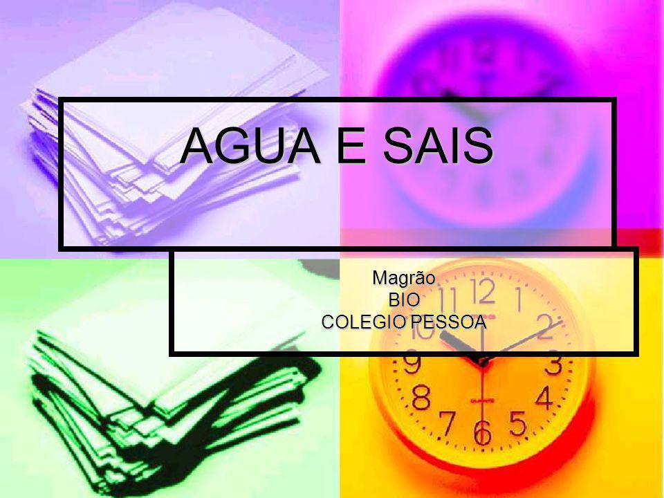 AGUA E SAIS MagrãoBIO COLEGIO PESSOA